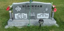 Doris Lorna <I>Richards</I> Blackham