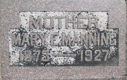 Mary Ann <I>Edmonds</I> Manning