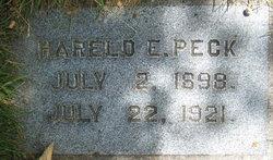 Harold E. Peck