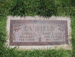 Annie Elizabeth <I>Laub</I> Canfield