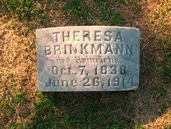 Theresa <I>Heinrichs</I> Brinkmann