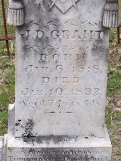 """James Davis """"Colonel"""" Grant"""
