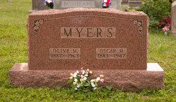 Olive Mae <I>Robertson</I> Myers