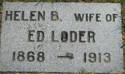 """Helen Belle """"Nellie"""" <I>Pomeroy</I> Loder"""