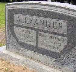 """Charles Engram """"Charlie"""" Alexander"""