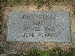 John Henry Rike