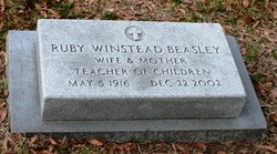 Ruby <I>Winstead</I> Beasley