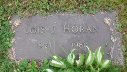 Lois J. <I>Hallquist</I> Horan