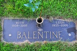 Clara Ruth <I>Holloway</I> Balentine