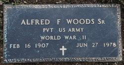Alfred F Woods, Sr
