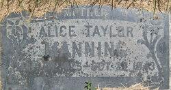 Alice <I>Taylor</I> Manning
