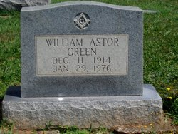 William Astor Green