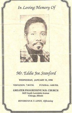 Eddie Joe Stanford, Sr