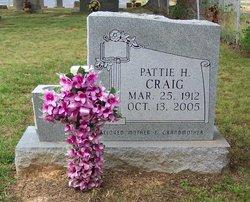 Pattie <I>Hargett</I> Craig