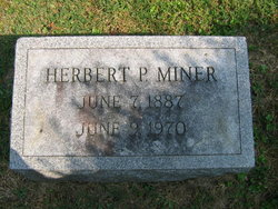 Herbert Paul Miner