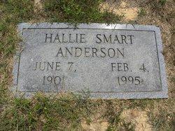 Hallie N <I>Smart</I> Anderson