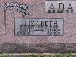 """Amanda Elizabeth """"Betty"""" <I>Wilson</I> Adams"""