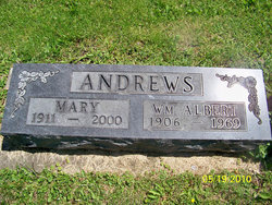 Mary <I>Fisher</I> Andrews