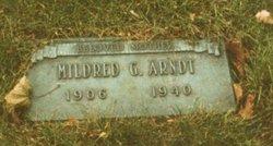 Mrs Mildred Gertrude <I>Anderson</I> Arndt