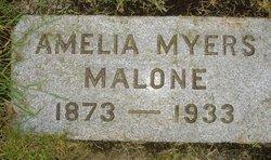 Amelia <I>Myers</I> Malone