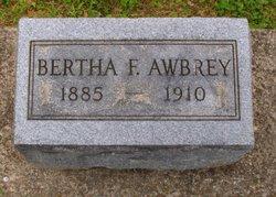 Bertha F Awbrey