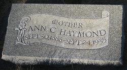 Ann Dilworth <I>Crandall</I> Haymond