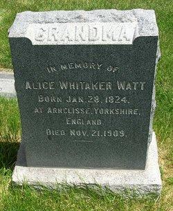 Alice <I>Longstroth</I> Watt