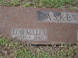 "Derinda Louisa ""Lou"" <I>Miller</I> Askew"