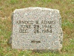 Arnold W Adams