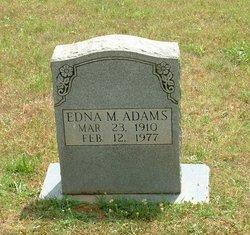 Edna M Adams