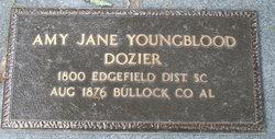 Amy Jane <I>Youngblood</I> Dozier