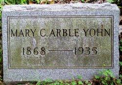 Mary Catherine <I>Arble</I> Yohn