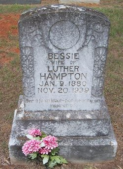 Bessie <I>Smith</I> Hampton