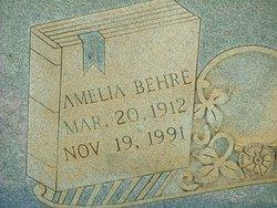Amelia <I>Behre</I> Bagwell