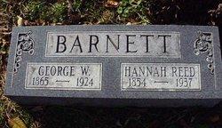 Hannah <I>Reed</I> Barnett