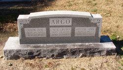 Hettie Ann <I>Bryan</I> Argo