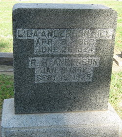 Lida <I>Hill</I> Anderson