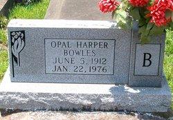 Opal <I>Harper</I> Bowles