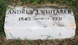 Andrew Jackson Whitaker