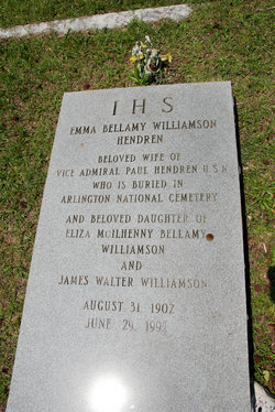 Emma Bellamy <I>Williamson</I> Hendren