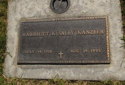 Harriett K. <I>Stager</I> Kanzler
