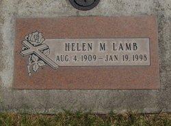 Helen M. <I>Miller</I> Lamb