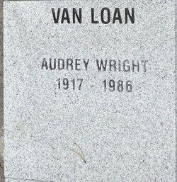 Audrey <I>Wright</I> Van Loan