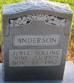 Jewel <I>Bolling</I> Anderson