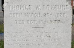 Thomas W. Roxburg