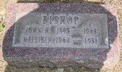 Nellie H <I>Evans</I> Bishop