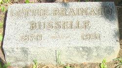 Lettie <I>Brainard</I> Busselle
