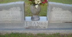 Tennie Francis <I>Monroe</I> Franks