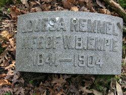 Louesa <I>Remmel</I> Empie