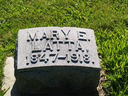 Mary Elizabeth <I>Jackson</I> Latta